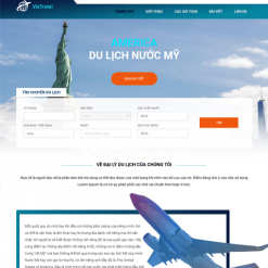 thiết kế website booking tour