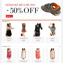 thiết kế website thời trang